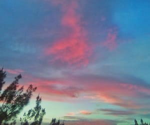aesthetic, blue, and blush image