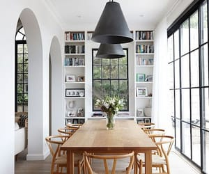 dinning room, house, and idea image