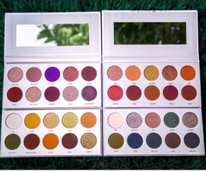 eyeshadow, palettes, and makeup image