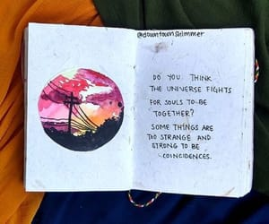 art, journaling, and quotes image