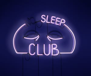 neon, sleep, and light image