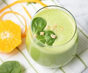 article, drink, and green image