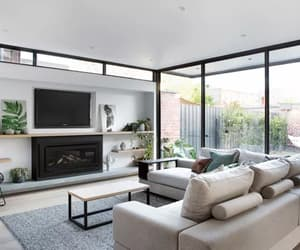 contemporary, interior decorating, and living room image