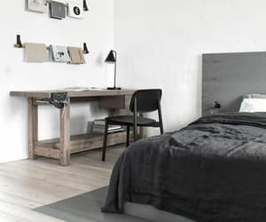 bedroom, black, and fashion image