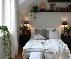bedroom, fashion, and flowers image