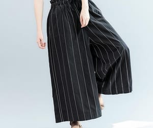 etsy, wide leg pants, and women pants image