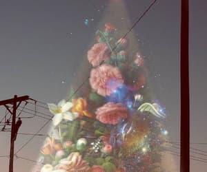 flowers, art, and light image