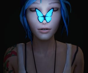 life is strange, butterfly, and chloe price image