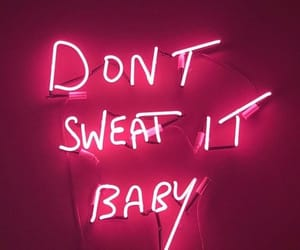 neon, neon sign, and baby image