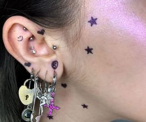 aesthetic, Piercings, and earrings image