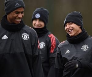 football, manchester, and smile image