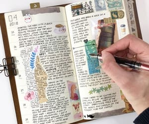 art journal, diary, and journal image