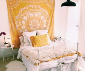 yellow, room, and cute image