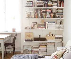 book, bedroom, and home image