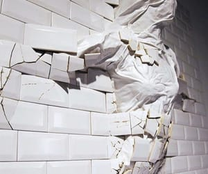 art, tumblr, and wall image