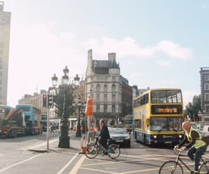 city, travel, and dublin image