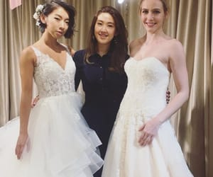 bridal, brides, and Couture image