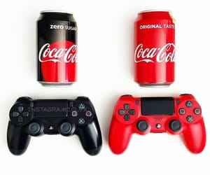 console, playstation4, and gamer image