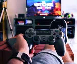 console, gamer, and playstation image