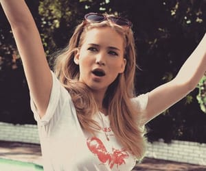 aesthetic, Jennifer Lawrence, and woman image