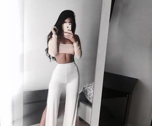 fashion, pants, and tan image