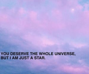 quotes, stars, and aesthetic image