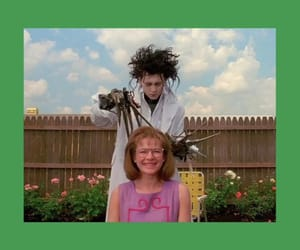 aesthetic, edward scissorhands, and film image