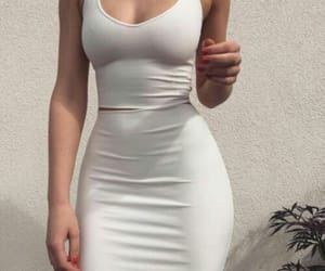 dress, fashion, and trending image
