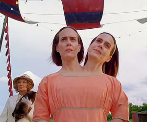 conjoined, sarah paulson, and freak show image