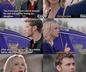 The Originals, caroline forbes, and klaus mikaelson image