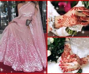 adore, bridal, and henna image