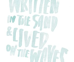 blue, summer, and qoute image