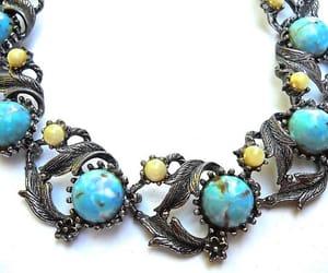 Art Nouveau, etsy, and vintage necklace image