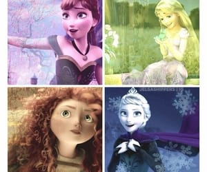 anna, brave, and frozen image