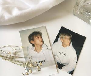 exo, white, and baekhyun image