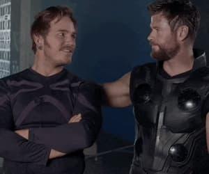 gif, infinity war, and Marvel image