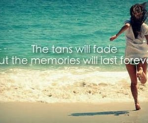 summer, beach, and memories image