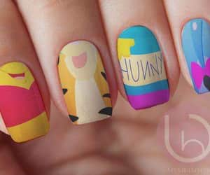 disney, manicure, and nails image