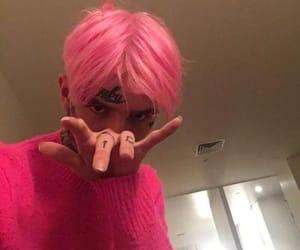 lil peep, peep, and pink image