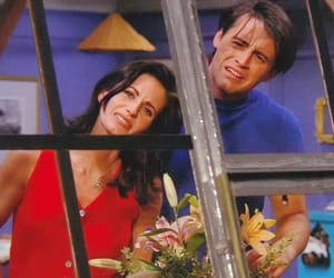 friends, joey tribbiani, and monica image