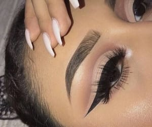 eyeliner, makeup, and shadows image