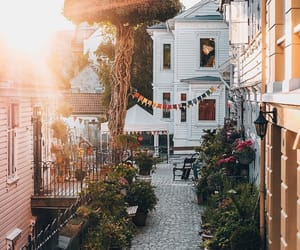 architecture, bergen, and buildings image