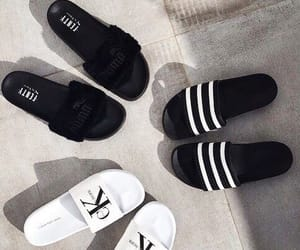 puma, adidas, and shoes image