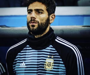 argentina, soccer, and beard image