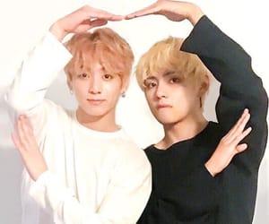 vkook, jungkook, and taehyung image