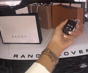car, luxury, and shopping image