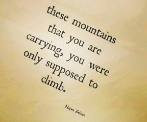 najwa zebian, mountains, and climb image