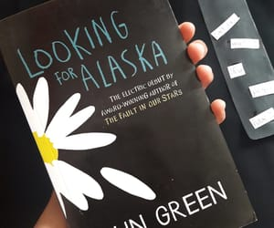 books, novel, and lookingforalaska image