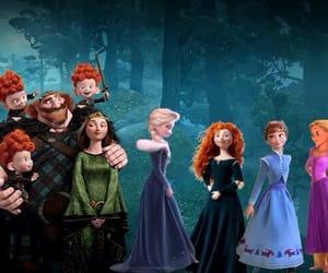 anna, merida, and the big four girls image