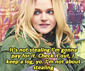 gif, orange is the new black, and madeline brewer image
